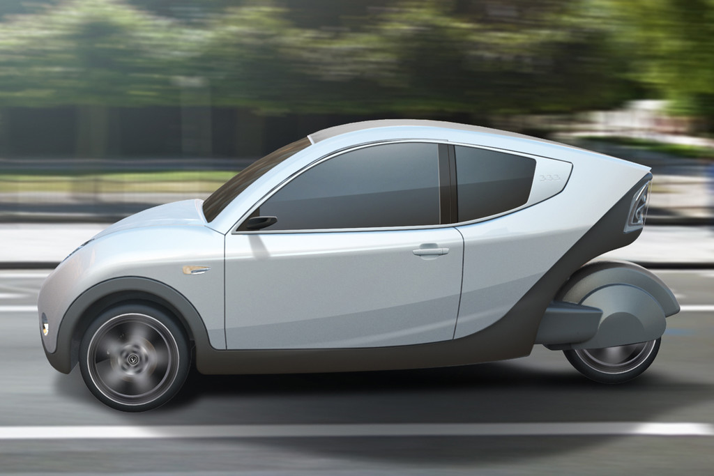 e car 333 concept made in belgium autonieuws. Black Bedroom Furniture Sets. Home Design Ideas