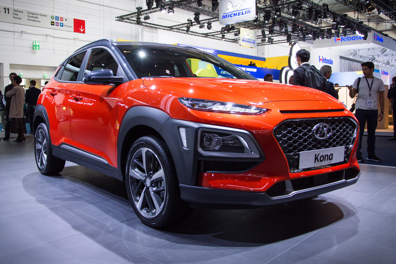 hyundai kona goes along with suv hype in frankfurt all reviews smartphones tablets laptops. Black Bedroom Furniture Sets. Home Design Ideas