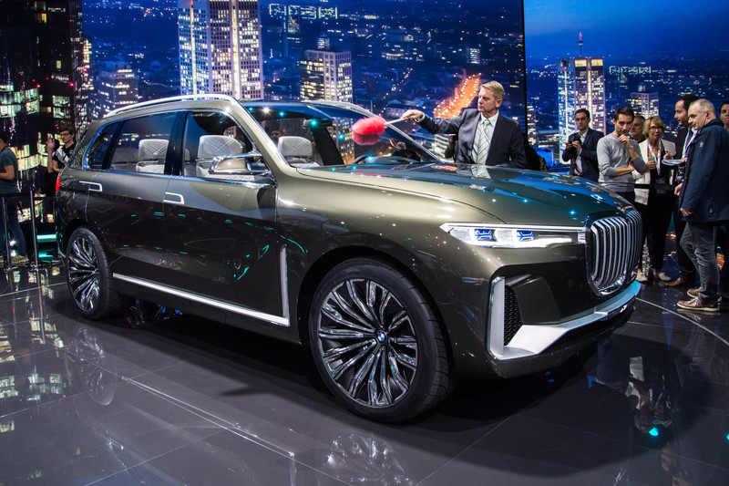 He Is Huge The Bmw X7 Iperformance Concept All Reviews