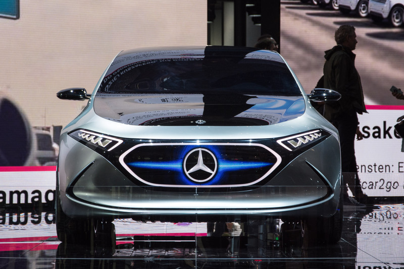Mercedes-Benz Concept EQA: this is the A-Class of the future? | All ...