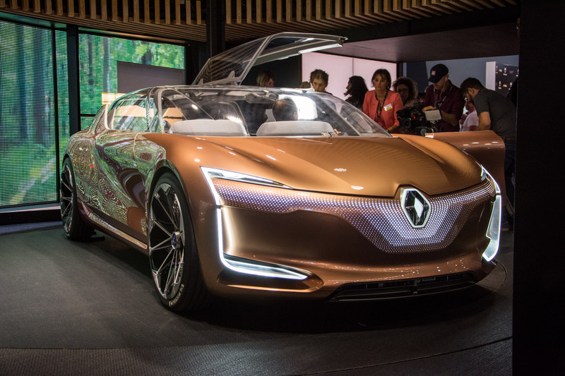 Renault Symbioz Concept Mysterious Future All Reviews