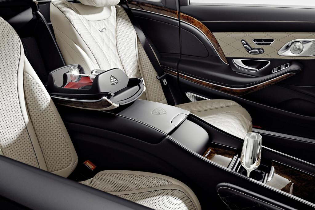 Mercedes maybach s klasse meer luxe meer ruimte meer rust autonieuws - Kind ruimte luxe ...