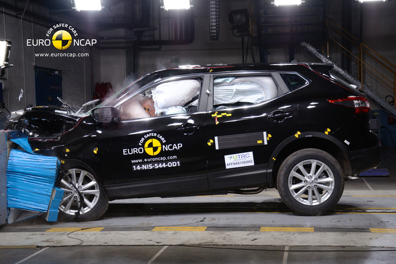 Nissan Qashqai Scored Five Stars In Crash Test All Reviews