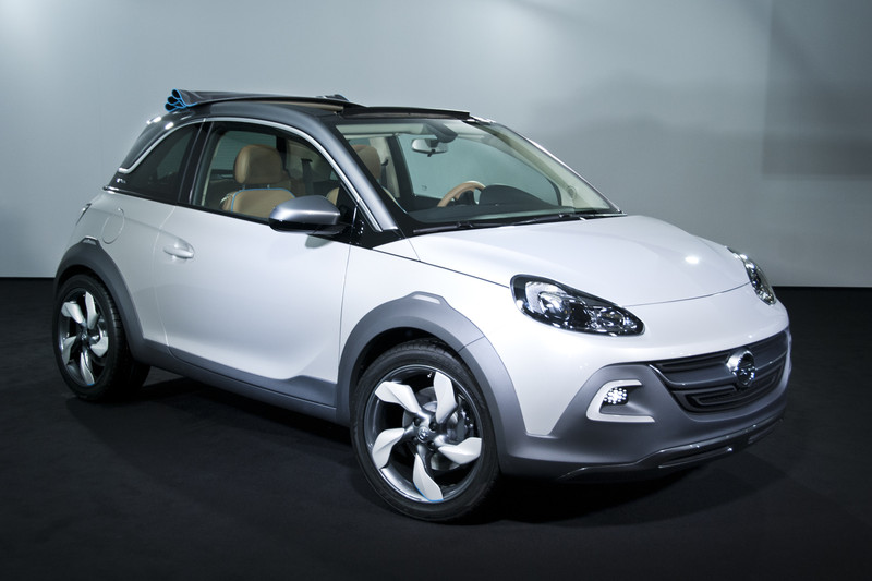 opel adam rocks wordt cross over autonieuws. Black Bedroom Furniture Sets. Home Design Ideas