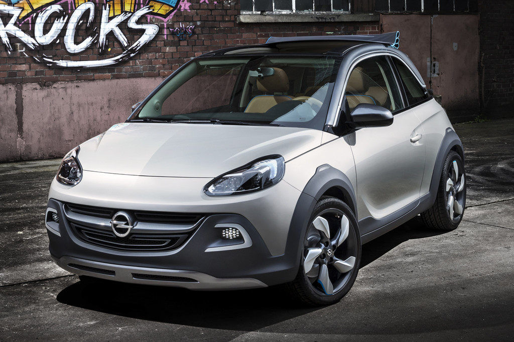 opel adam cabrio debuteert in maart autonieuws. Black Bedroom Furniture Sets. Home Design Ideas