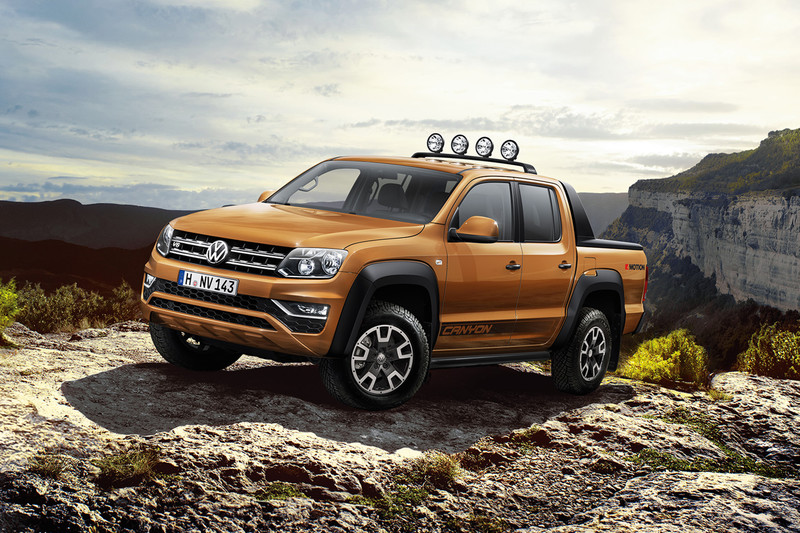 Volkswagen Amarok as a Canyon and Aventura | All reviews