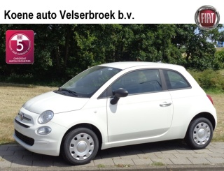 Uitblinker: Fiat 500 1.2 69 Young 4 cilinder AIRCO CRUISE CONTROL