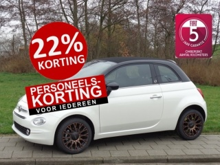 Uitblinker: Fiat 500C TwinAir Turbo 85 120th Edition CLIMATE 7