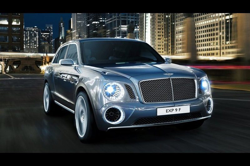 De Bentley EXP 9 F