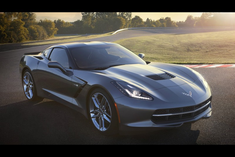 De Chevrolet Corvette Stingray