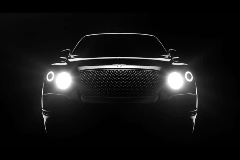 Bentley SUV: The shape of things to come