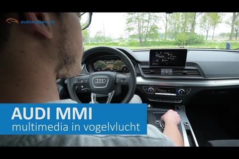 Hoe werkt Audi's MMI-systeem?
