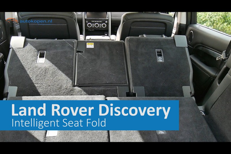 Land Rover Intelligent Seat Fold is magie!