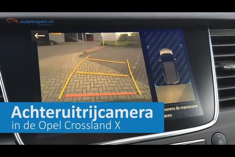 360 graden achteruitrijcamera Opel Crossland X