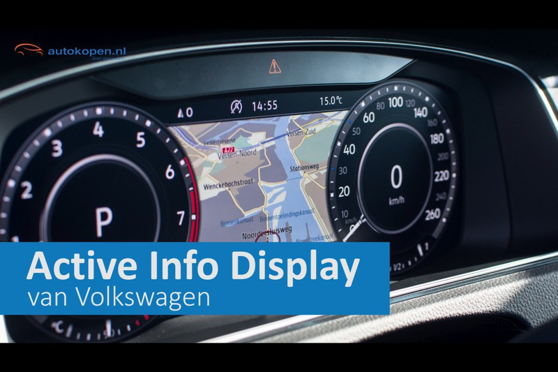 Impressie Volkswagen Active Info Display