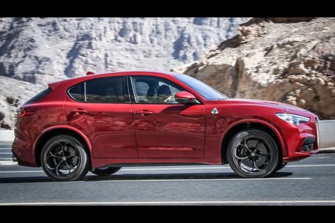 Alfa Romeo Stelvio Quadrifoglio in Abu Dhabi