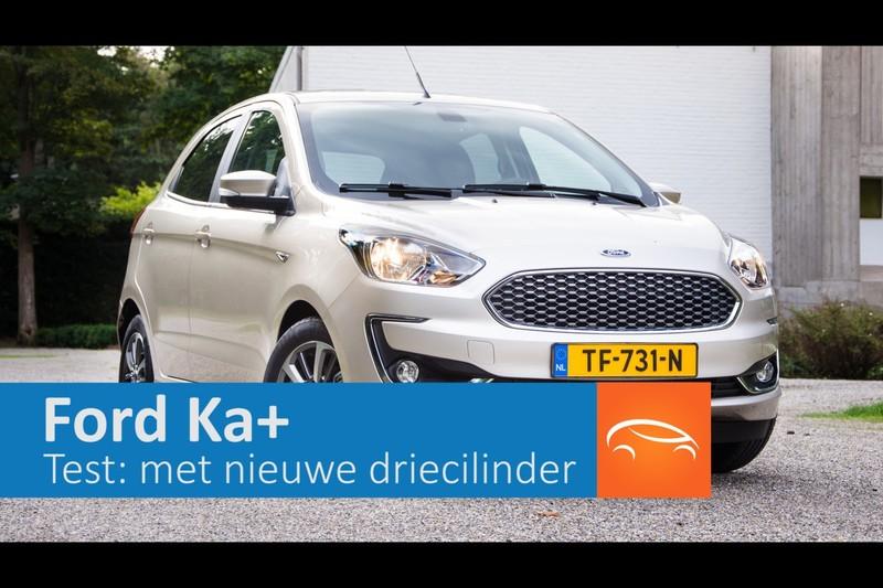 Test: Ford Ka+ met nieuwe driecilinder