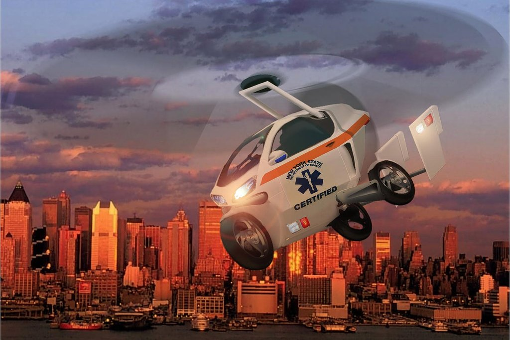 Politie Wil Vliegende Auto S Autonieuws Autokopen Nl