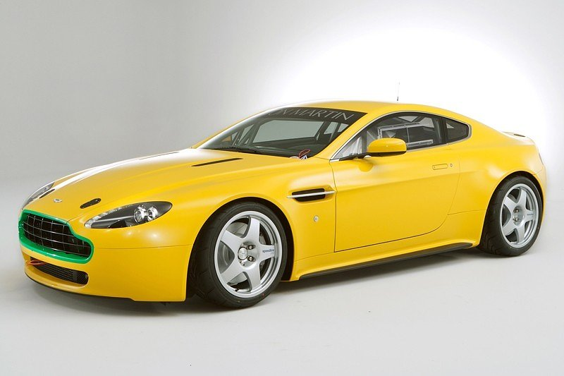 V8 Vantage N24: the clock is ticking!