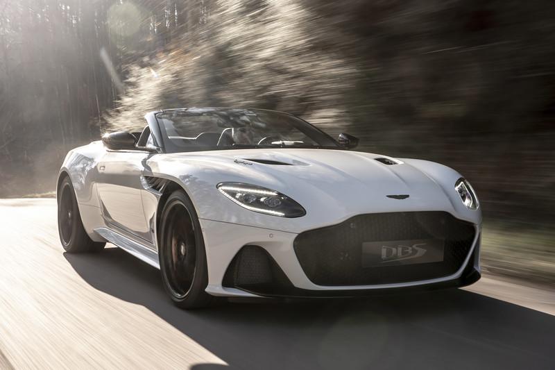 Aston Martin DBS Superleggera nu ook als Volante
