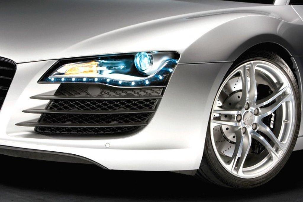 Audi R8 Eerste Auto Met Complete Led Verlichting Autonieuws