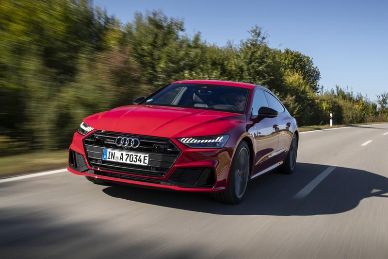 Audi A7 Sportback plug-in hybride geprijsd