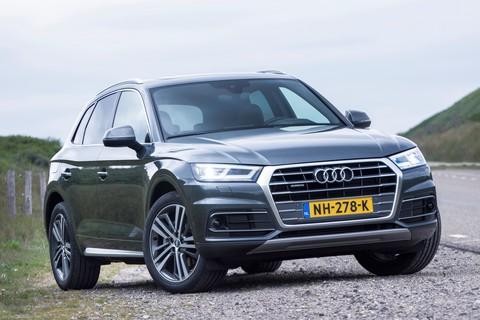 Audi Q5: lucht en ruimte