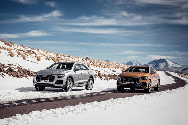 Audi Q8: prijzen en heel veel foto's