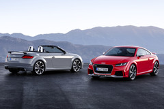 Audi TT RS Coupé en TT RS Roadster 2016