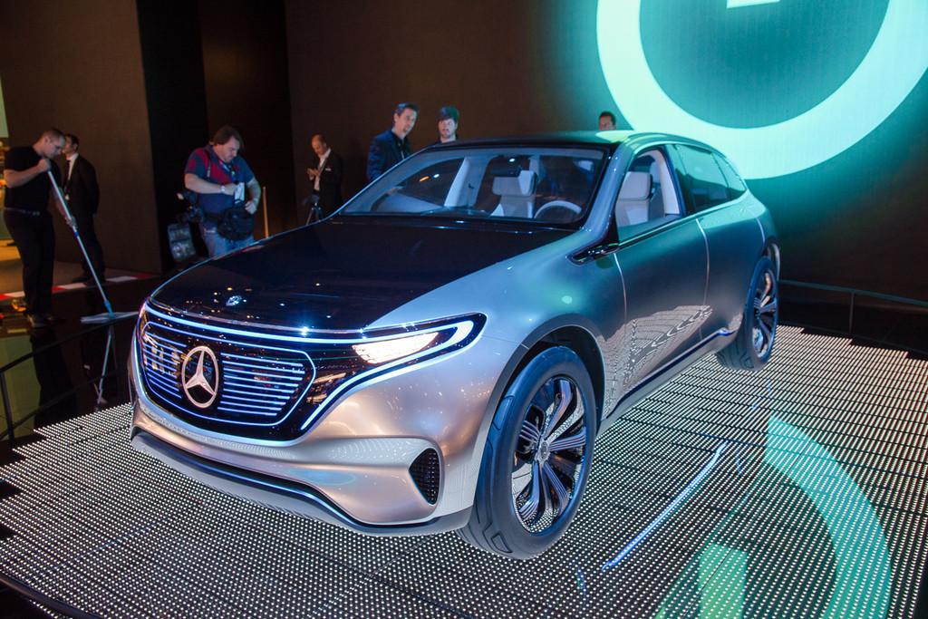 Mercedes Benz Eq Is Voorbode Nieuwe Generatie Elektrische Auto S