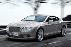Bentley Continental GT 2011 voorzijde