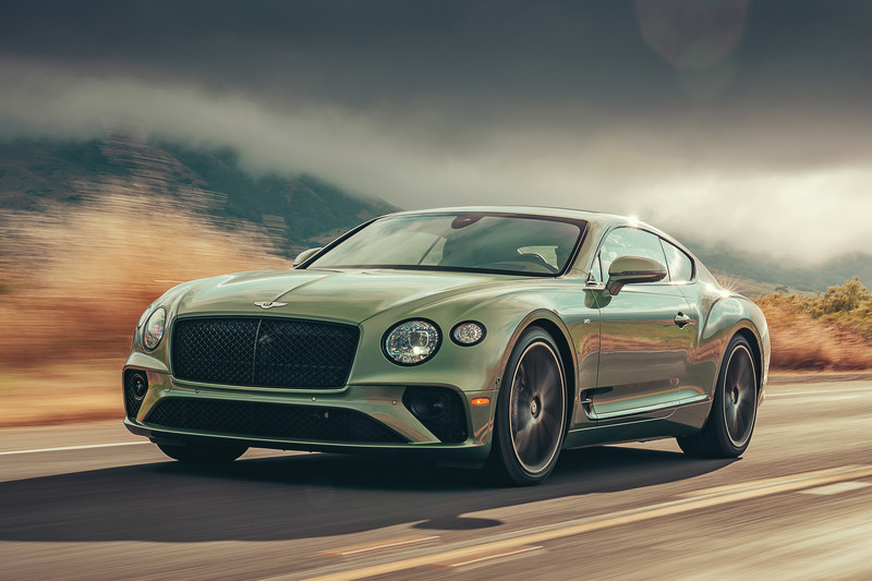 Modeljaarupdate Bentley Continental GT