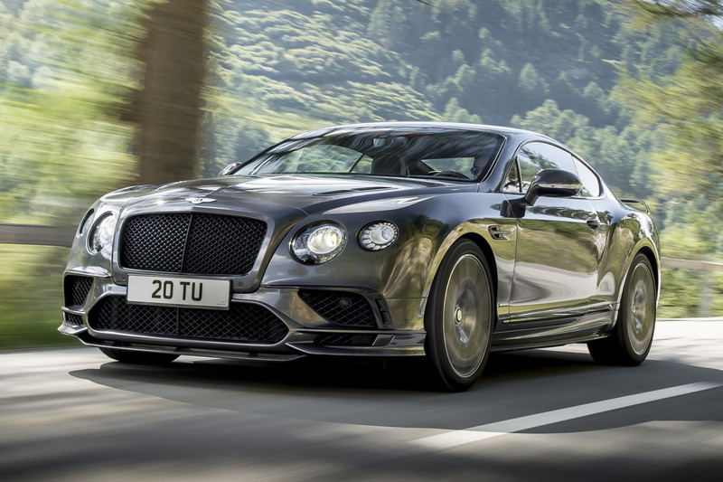 Bentley Continental Supersports is nu krachtigste Bentley ooit