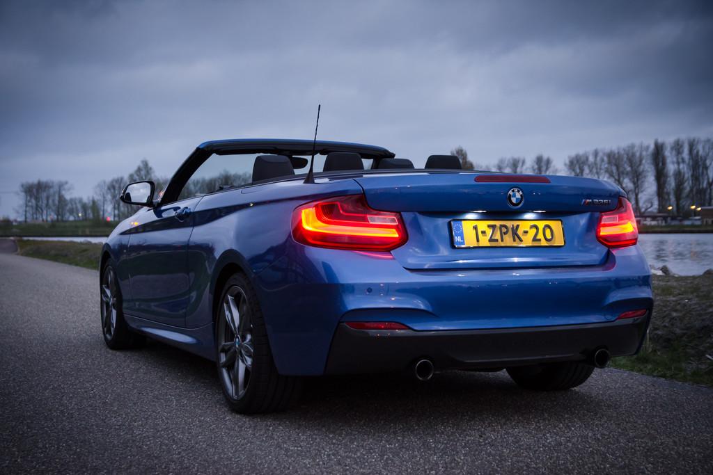 Test: BMW 2 Serie Cabrio - 2016   Autokopen.nl