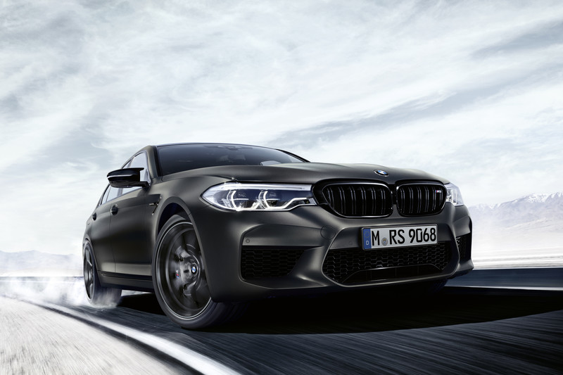 BMW M5 Edition 35 Jahre is goud waard
