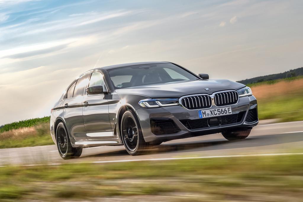 BMW 545e xDrive sedan: hybride topmodel