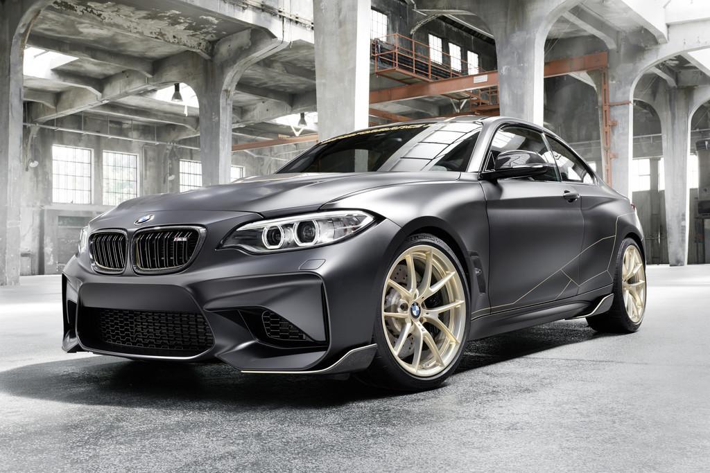 BMW M Performance Parts Concept: lichtgewicht showcase