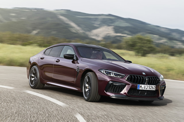 BMW M8 Gran Coupé 2020 - Competition uitvoering