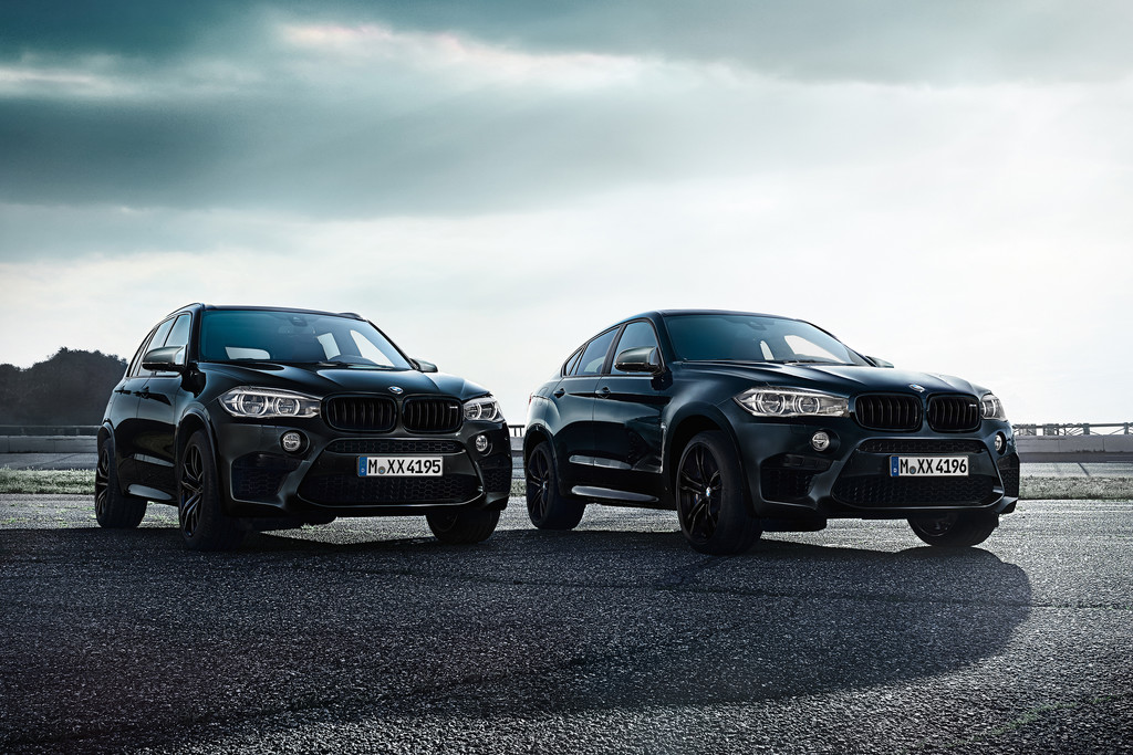 bmw kleedt x5 m en x6 m aan als black fire edition autonieuws. Black Bedroom Furniture Sets. Home Design Ideas
