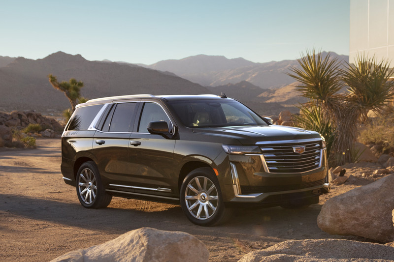 Nieuwe Cadillac Escalade is nóg groter