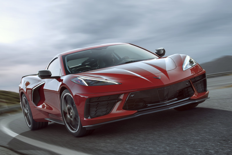 Nieuwe Chevrolet Corvette treedt toe tot supercar-club