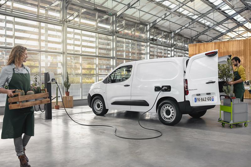 Citroën presenteert de ë-Berlingo Van