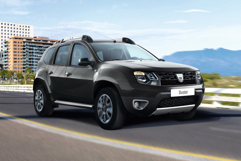 dacia komt met chique duster s rie limit e blackshadow autonieuws. Black Bedroom Furniture Sets. Home Design Ideas