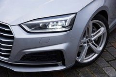 De testauto Audi A5 is voorzien van Matrix LED-lampen