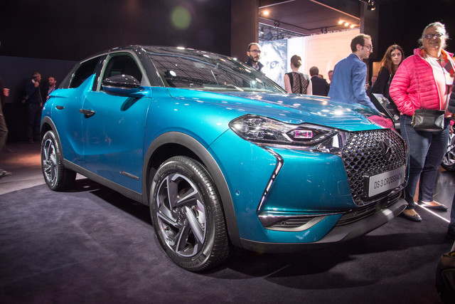 Design-statement van de show: DS 3 Crossback