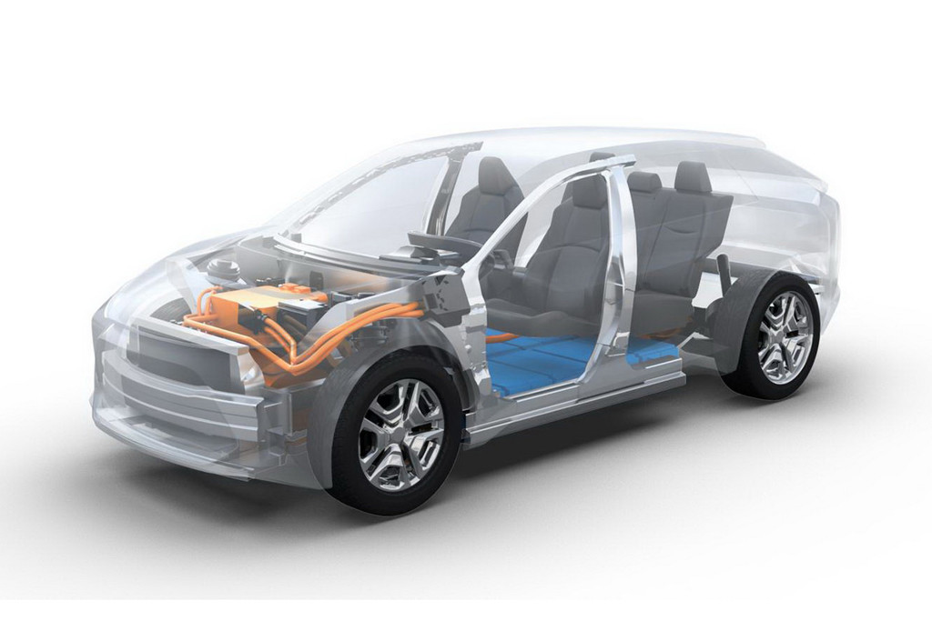 Elektrische Subaru komt in 2025