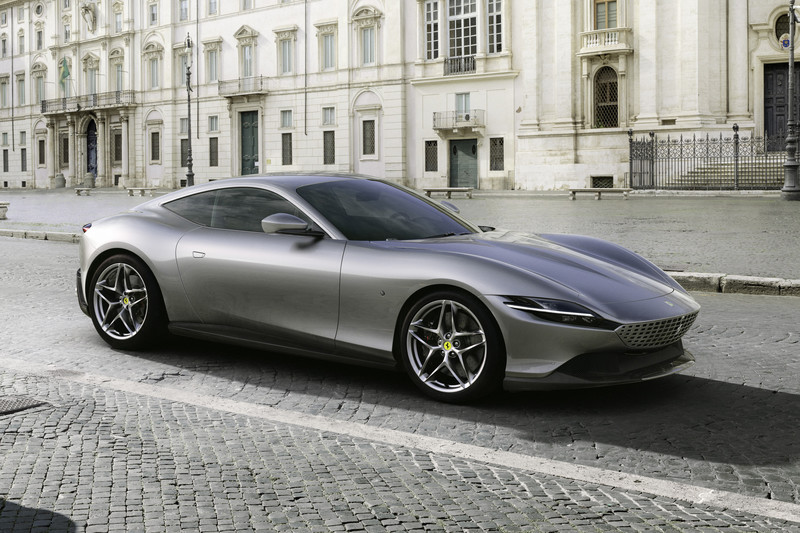 Ferrari Roma coupé onthuld