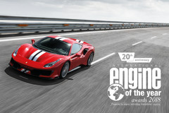 Ferrari wint opnieuw Engine of the Year-award