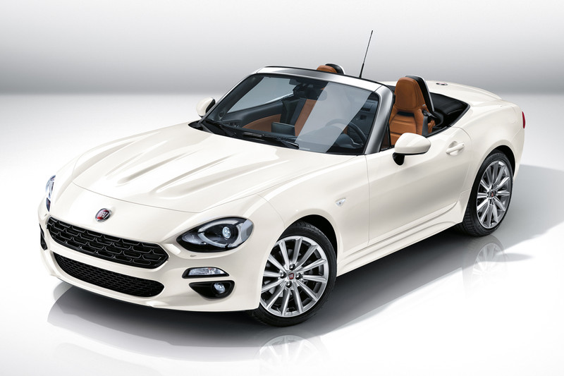 Fiat 124 Spider is terug [update]