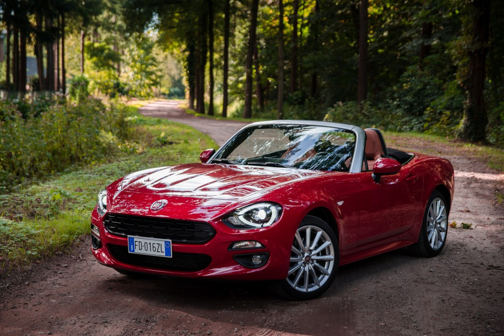 test fiat 124 spider 2016. Black Bedroom Furniture Sets. Home Design Ideas